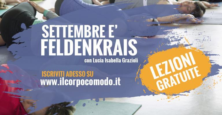 BRESCIA - Settembre è Feldenkrais. Il metodo che dona consapevolezza ai gesti quotidiani