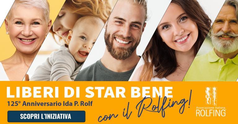 Promozione: Liberi di Star Bene con il Rolfing!